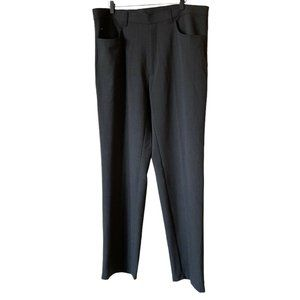 Lacoste Devanlay Wool Blend Trousers Pants Gray 38